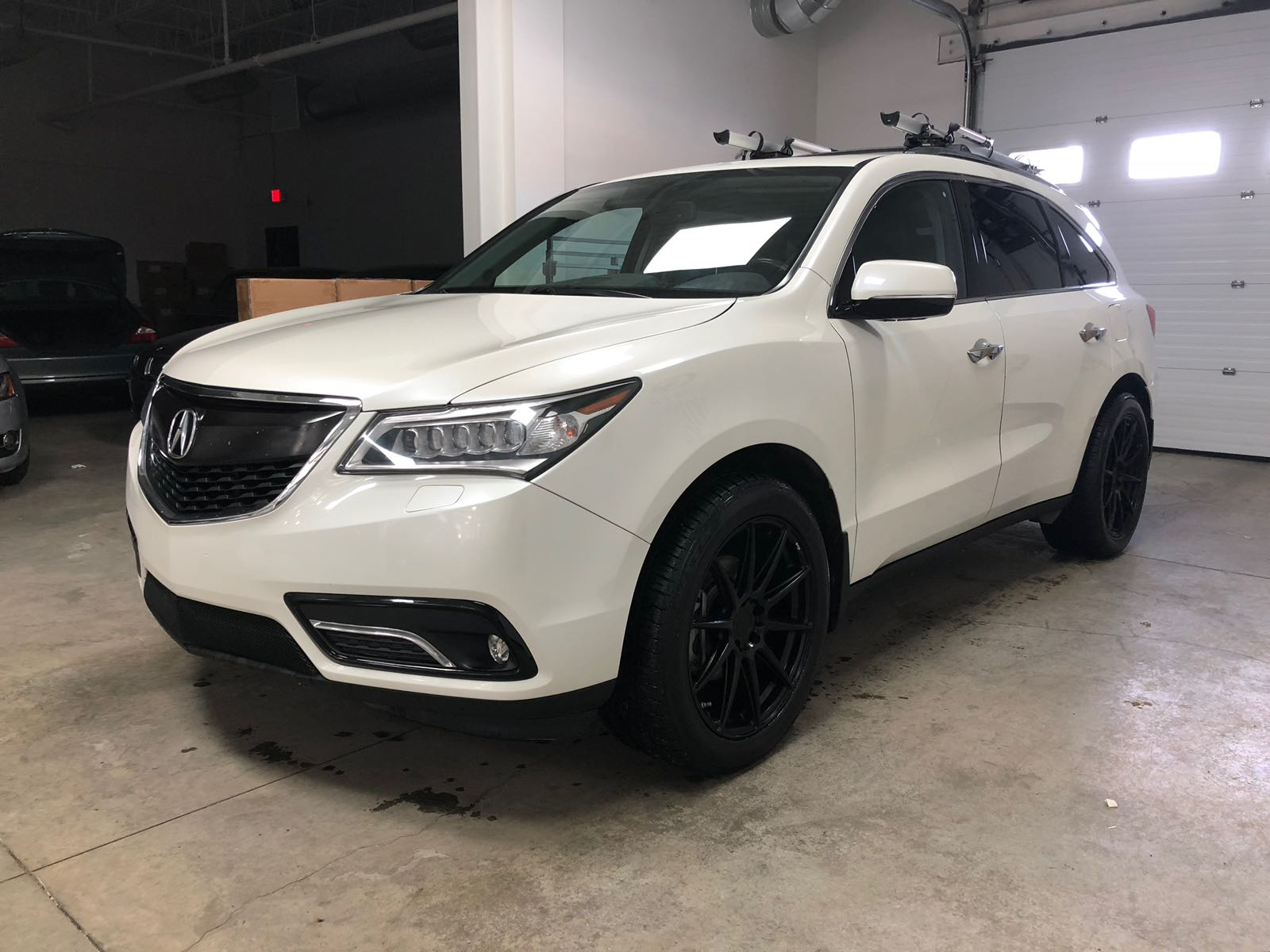 2014 Acura Mdx Awd 1 Owner Factory Warranty 7 Passenger Leather